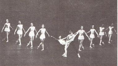 М. Хайден, К. Ладлоу. «Кончерто барокко». Фоторепродукция В. Дюжаева