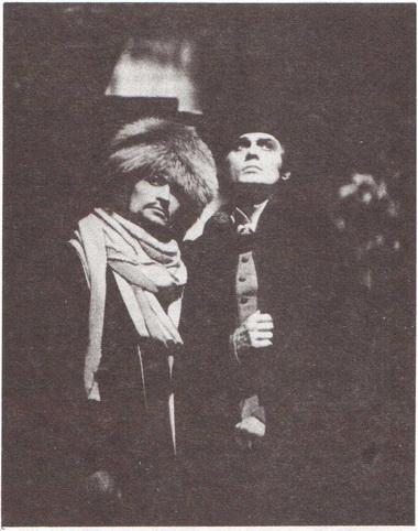В. Панов (Рогожин), В. Голван (Мышкин). «Идиот». Берлин, 1979