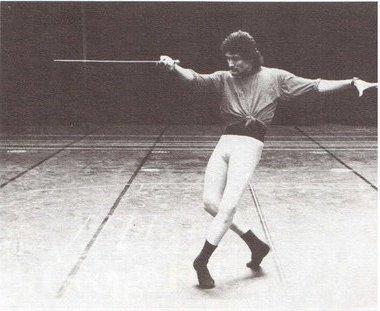 Франческо Виллицич (Тибальт). «Ромео и Джульетта» хореография В. Панова. Фото из архива В. Панова
