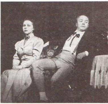 Н. Воронина (Гурмыжская), В. Зайцев (Буланов)