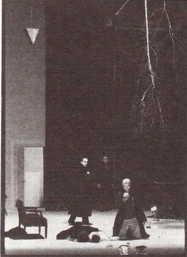 К. Шермер (Луиза) и Д. Кёнинг (Фердинанд). Фото М. Хенке