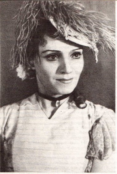 Софья Сотничевская (Лидия). «Бешенные деньги». Тула, 1950 г. Фоторепродукция С. Шмуняо