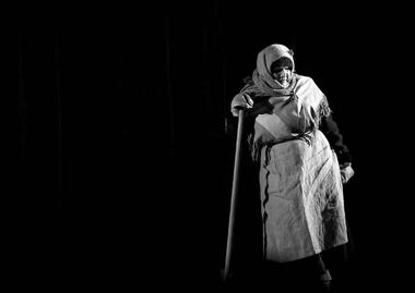 Е.Фоминцев (Слава), Е.Заиграева (Катя). «Пятьвечеров». «Пятыйтеатр» (Омск). ФотоА.Телеша