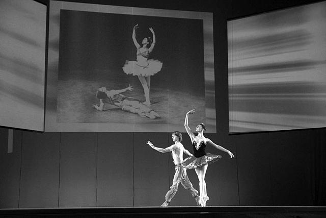 Сцены изспектакля «Нуреевforever». ФотоО.Владимирского