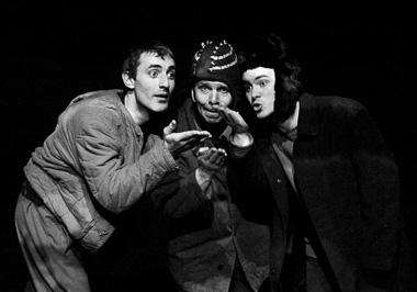 В.Степанов (Тоха), Г.Алимпиев (Серега), В.Антипов (Вася). ФотоВ.Башиловой