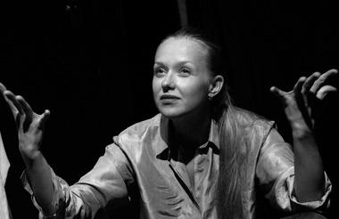 Н.Бурмистрова (Ирина). «Блондинка». Лаборатория ON.Театр. ФотоТ.Ивановой