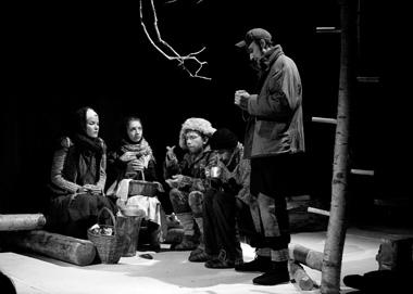 Сцена изспектакля «Прекрасное Далёко». ФотоО.Оловянниковой