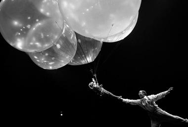 Сцена изспектакля. Фото предоставлено пресс-службой Cirque duSoleil