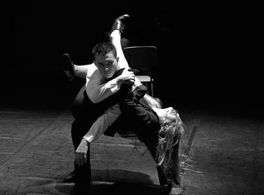 Сцена изспектакля «Мерлифлор». ФотоВ.Луповского
