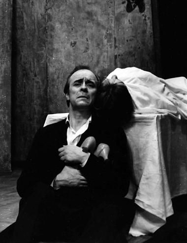 О.Борисов (Он), Н.Акимова (Она). «Кроткая».1981г. ФотоБ.Стукалова