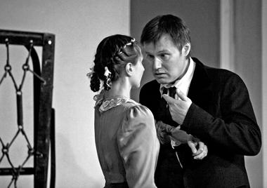 Е.Лямина (Она), И.Гордин(Он). ФотоВ.Луповского