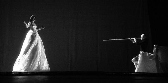 С.Камынина (Фея), А.Гребенщикова(Пиноккио). ФотоА.Гущина