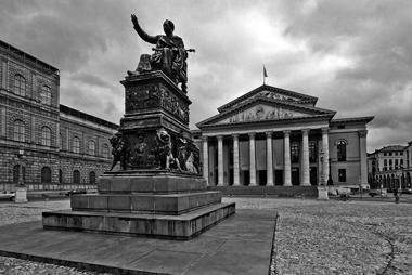 Театр «Nationaltheater München». Фото А. Иванова