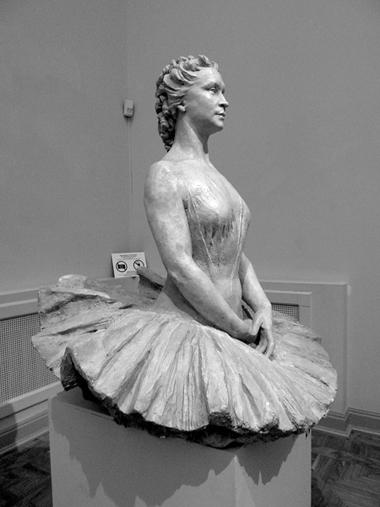 Марина Семенова. Гипс.1941. Фото М. Стекольниковой