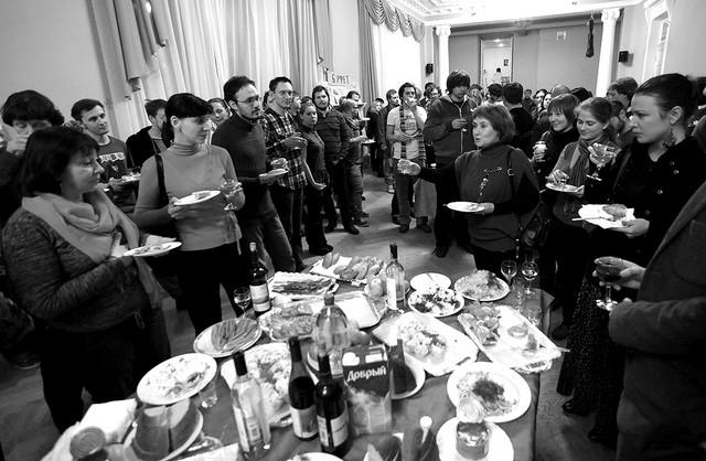 Закрытие фестиваля. Фойе БТК. Фото А. Телеша