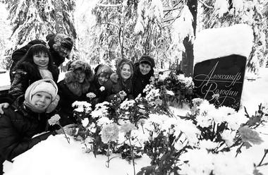 10февраля 2011г. наКомаровском кладбище. Фото А. Телеша