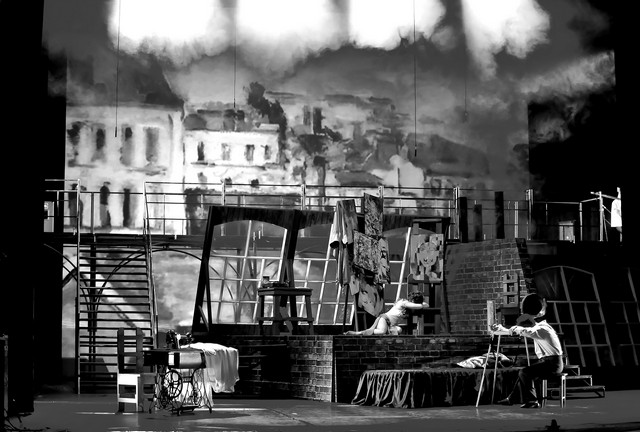 Сцена изспектакля «Граф Люксембург». Иркутский музыкальный театр. Фото И. Сирохина