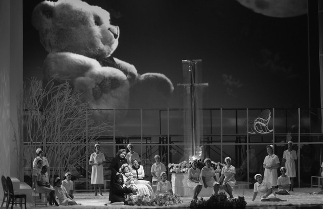 Сцена изспектакля «Иоланта». Новосибирский театр оперы ибалета. Фото Е. Иванова