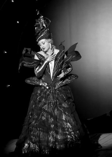Н.Дмитриевская (Царица Ночи). «Волшебная флейта».  Ростовский музыкальный театр. Фото изархива театра