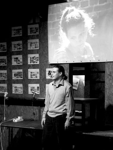 И.Николаев вспектакле.  Фото В. Васильева