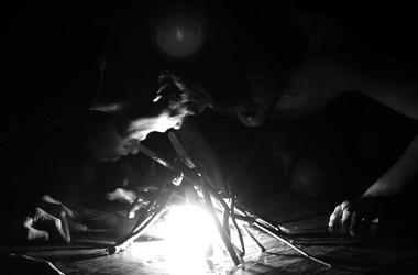 Сцены изспектакля «Два Лазаря».  Фото А. Захарьиной