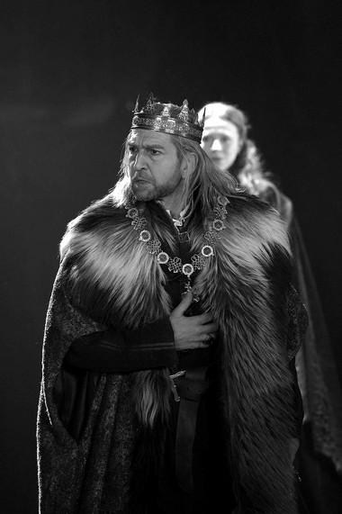 Г.Хикс (Лир) вспектакле «Король Лир». Фото изархива театра