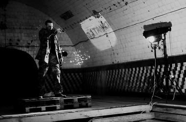 Сцены изспектакля «Герой нашего времени». ФотоА.Шмитько