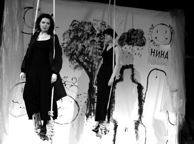 Сцена изспектакля. «Сатирикон». ФотоЕ.Цветковой