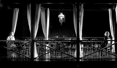 Сцена изспектакля «Записные книжки». СТИ. Фотопредоставленопресс-службойтеатра