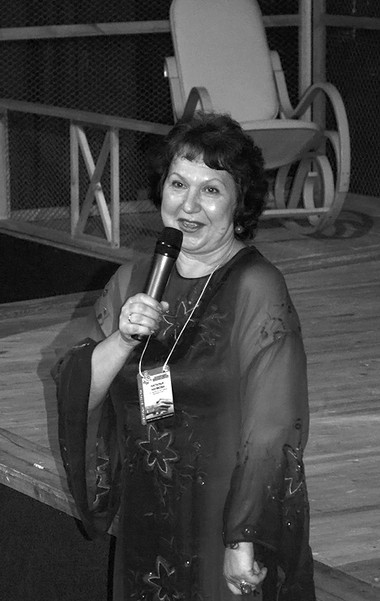 Художественный руководитель фестиваля Н.Наумова. Фото изархива фестиваля