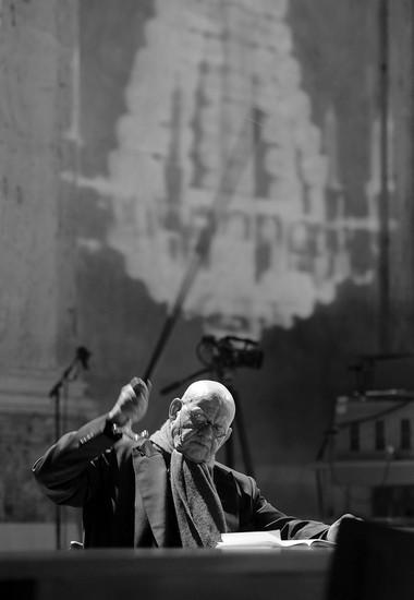 И.Кирхнер (князь Болконский). Фото Georg Soulek/Burgtheater. Предоставлено пресс-службой фестиваля