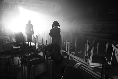 Сцена изспектакля. Фото Georg Soulek/Burgtheater. Предоставлено пресс-службой фестиваля