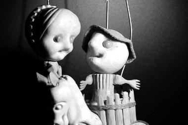 Куклы изспектакля «Жеменелис».  Фото А. Самойленко