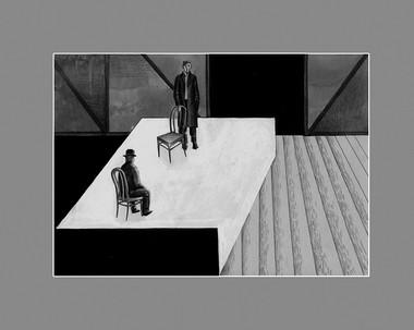 Эскизы кспектаклю «Каин»