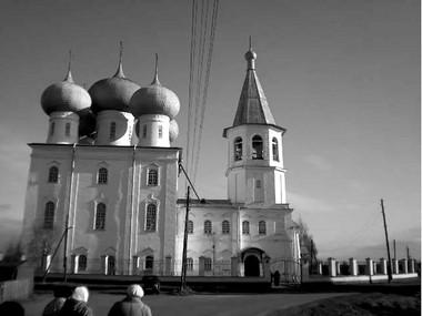 Храм Сретенья Господня села Заостровье. Фото Г. Брандт