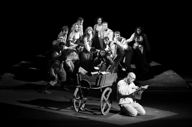 «Дон Кихот». Сцена изспектакля. РАМТ. Фото М. Моисеевой