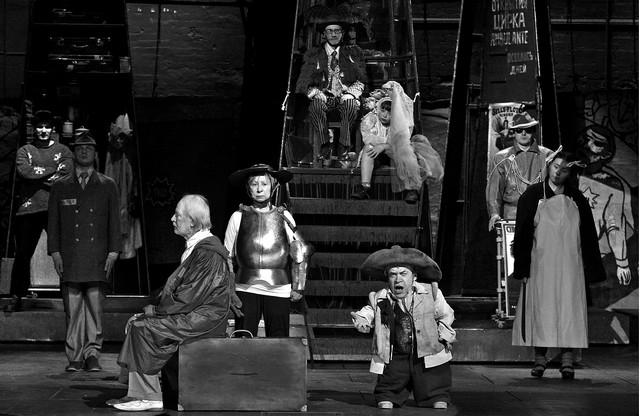 «Circo Ambulante». Сцена изспектакля. Театр Наций. Фото В. Луповского