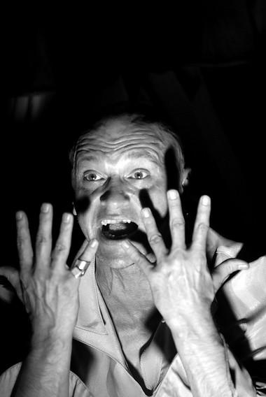 А.Девотченко вспектакле «DeProfundis». Проект Алексея Девотченко. Фото В. Постнова