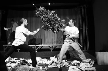Эскиз «Два веронца». Фото А. Белоусовой