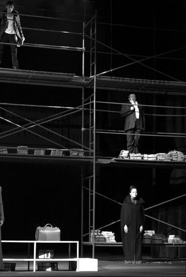 Сцена из спектакля. Фото П. Карепанова