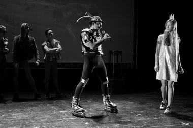 «Новый сезон: Пушкин. Робин. Обезьяна. Робот?». Фото Д. Пименова