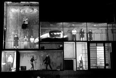 Сцена изспектакля. Фото А. Белицкого