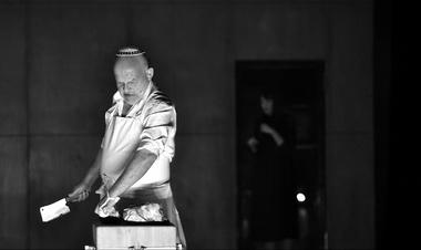А.Ференци (Шейлок). Фото изархива театра