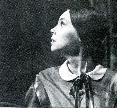 М.Лаврова (Дуня). Фото В. Дюжаева