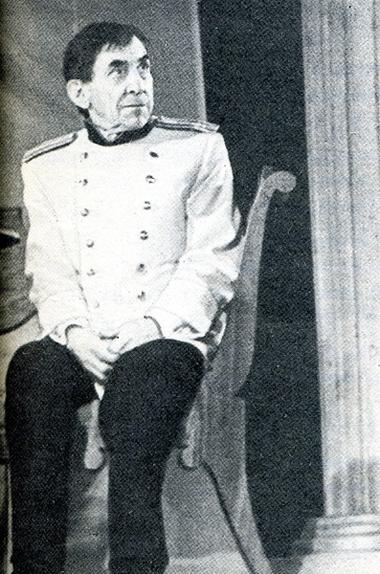 И.Мокеев (Чебутыкин). Фото П. Маркина