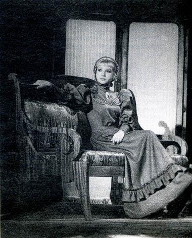 И.Кушнир (Наташа). Фото В. Васильева
