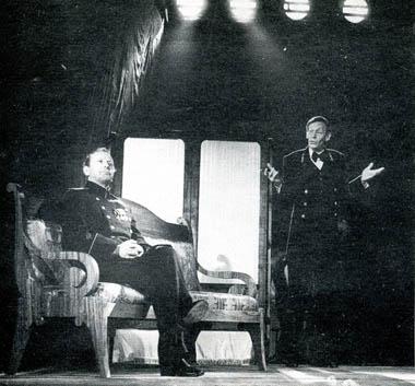 Е.Меркурьев (Вершинин) иЕ.Иловайский (Кулыгин). Фото В. Васильева