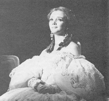 Т.Кузнецова (Маргарита Готье). Фото Ф. Титова