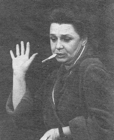 Нина Ольхина (Мать) «Фантазии Фарятьева». БДТ им. М.Горького Фото Б. Стукалова