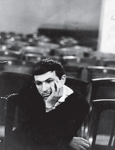 Студент К. Гинкас. Фото изархива К.Гинкаса